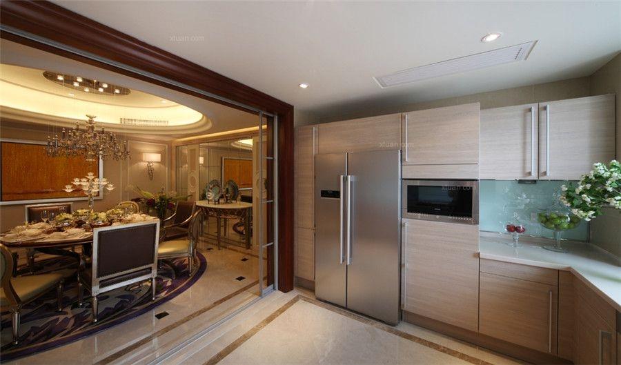 三居室混搭风格厨房