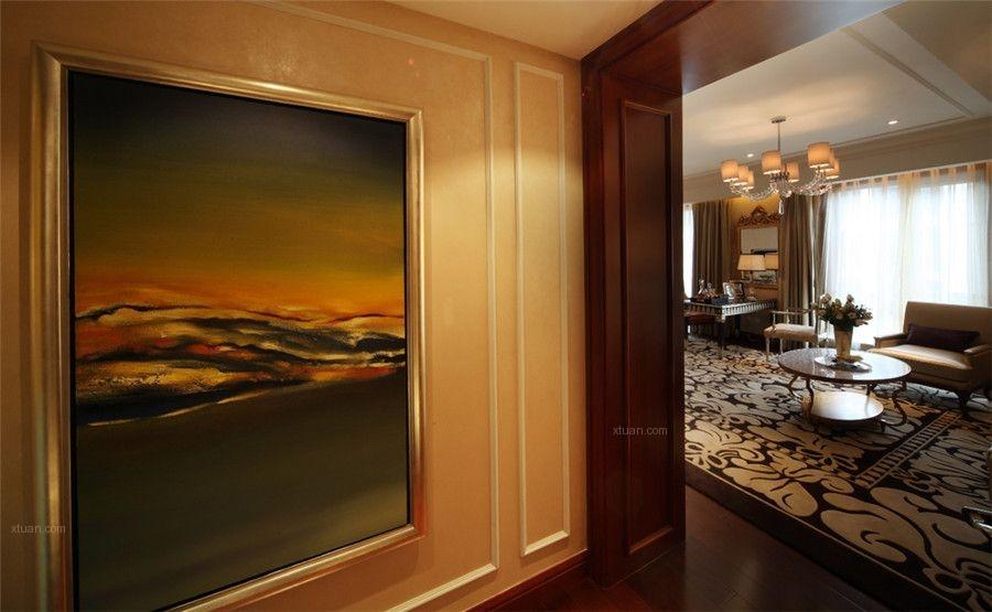 三居室混搭风格休闲区