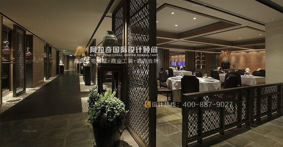 中式风格餐饮空间