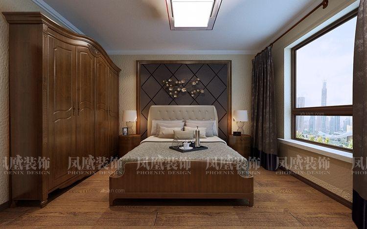 玫瑰湾珑岸现代风格装修效果图 哈尔滨凤凰装饰公司