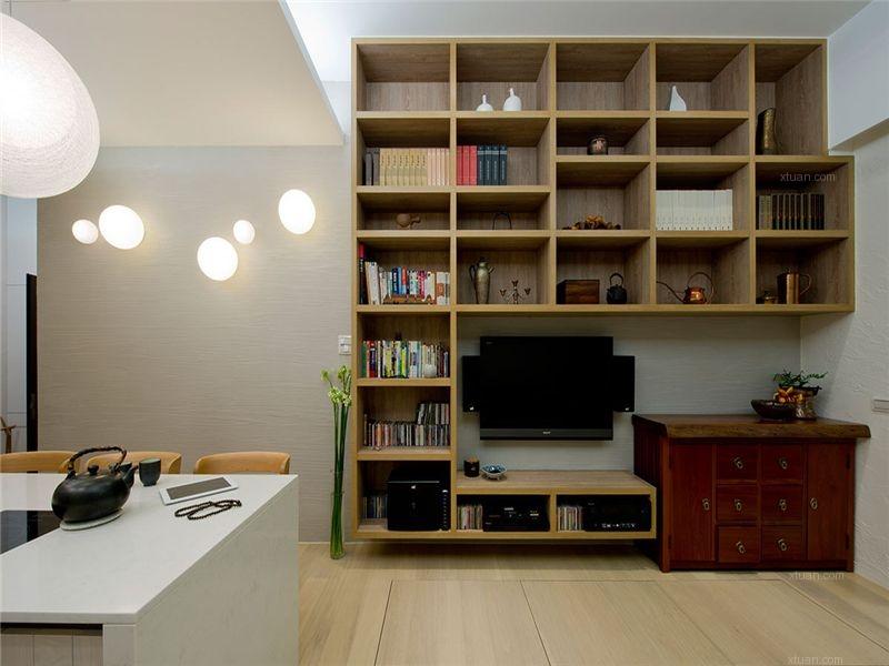三居室现代简约书房