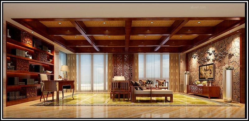 独栋别墅东南亚风格地下室图片