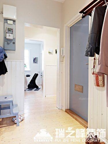 两居室北欧风格玄关