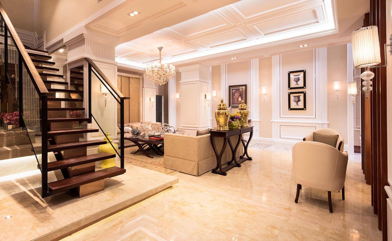复式楼简约风格客厅图片