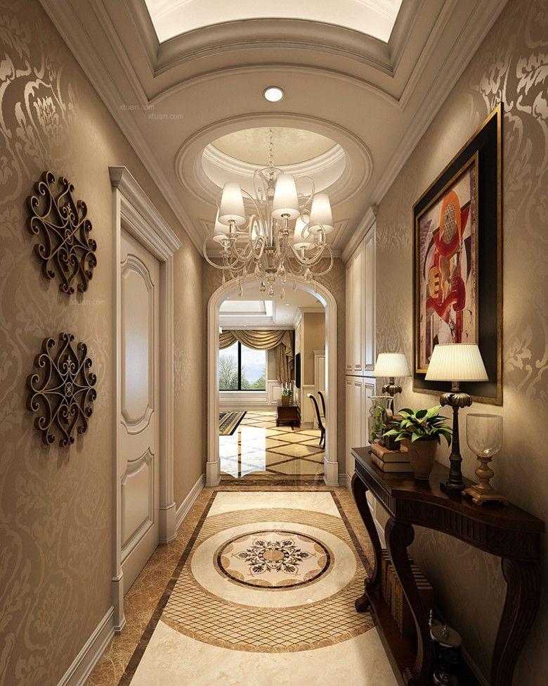 锦城世家245平米欧式风格装修效果图图片