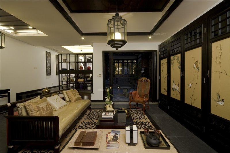 太阳城140平三居室中式风格