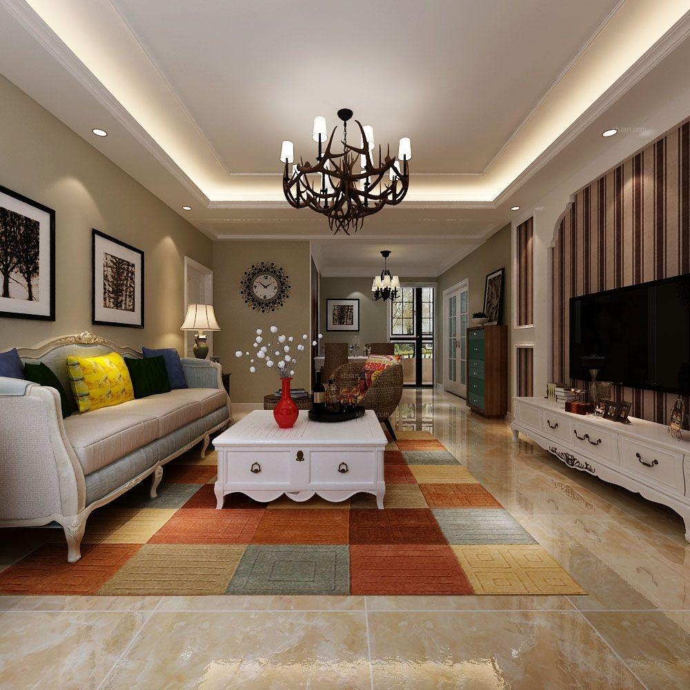 名辉豪庭美式风格设计方案