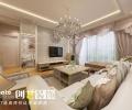 海华东盟公馆案例-95m²简欧风格