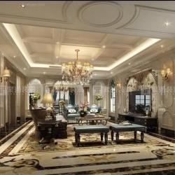 静安区别墅装修新古典风格设计