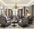 世茂湖滨花园别墅新中式风格设计
