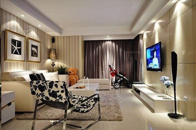 东方康德家园三房装修现代风格设计