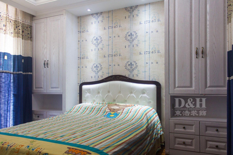 三居室美式风格卧室软装