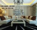 百建华茗装饰设计作品锦绣滨湖时尚温馨风格