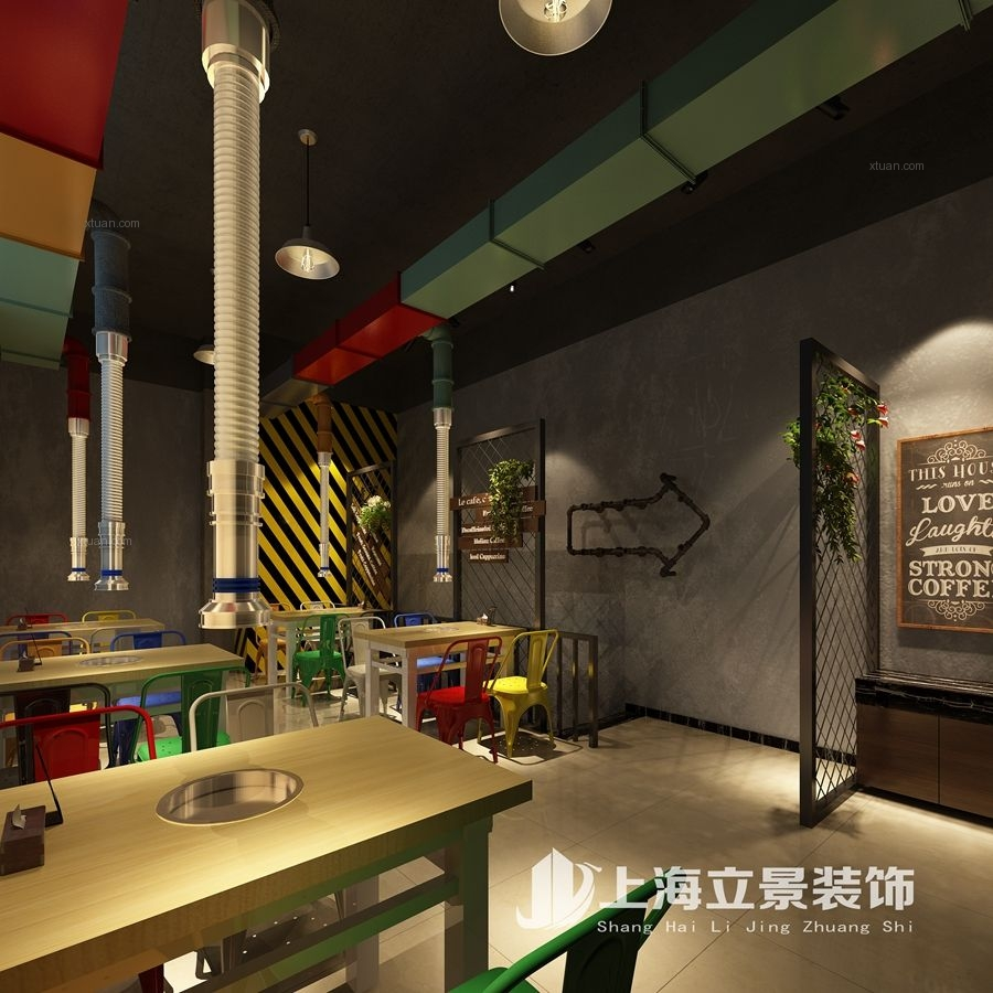 万达金街汉城火炉装修效果图图片