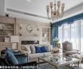 成都川豪装饰设计丽都首府—现代简美风格装修案例