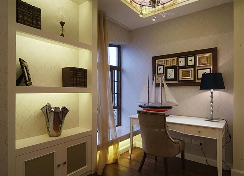 三室两厅欧式风格休闲区