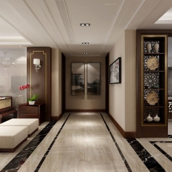 茶香生活 | 青州龙苑 140m²新中式装修案例