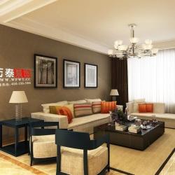 中南城市金典128现代风格装修案例