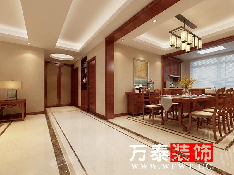 盈富广场170平新中式风格