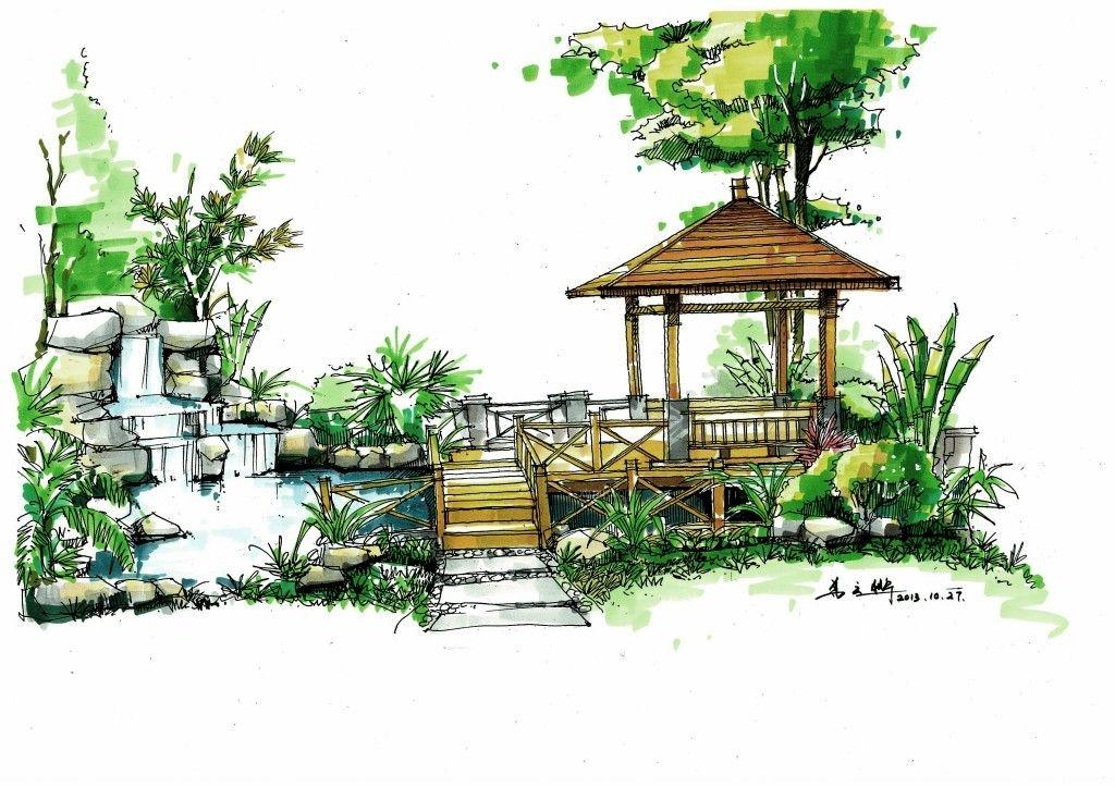 别墅欧式风格花园入户花园