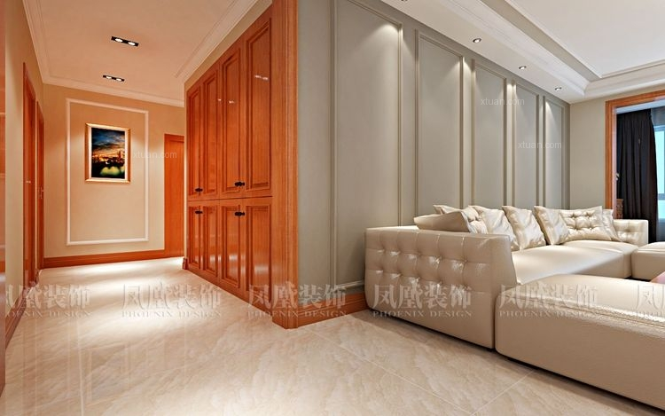 观江国际混搭风格装修设计效果图 哈尔滨凤凰装饰公司