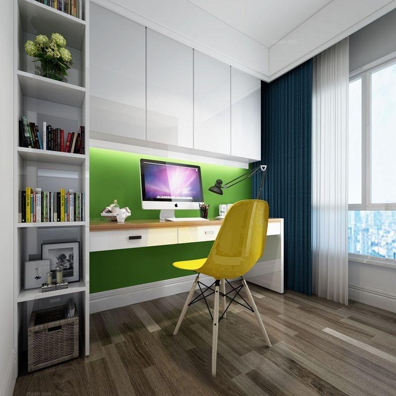 建发鹭洲国际现代风格装修案例