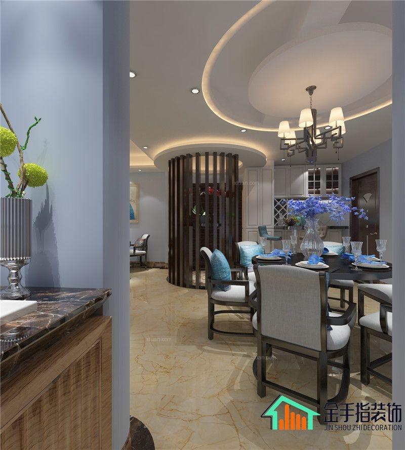 俊发城新中式风格