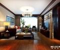 新中式两居106㎡装修案例