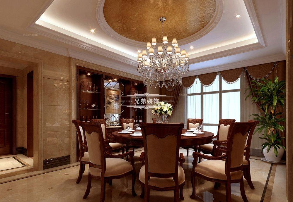 别墅美式风格餐厅厨具