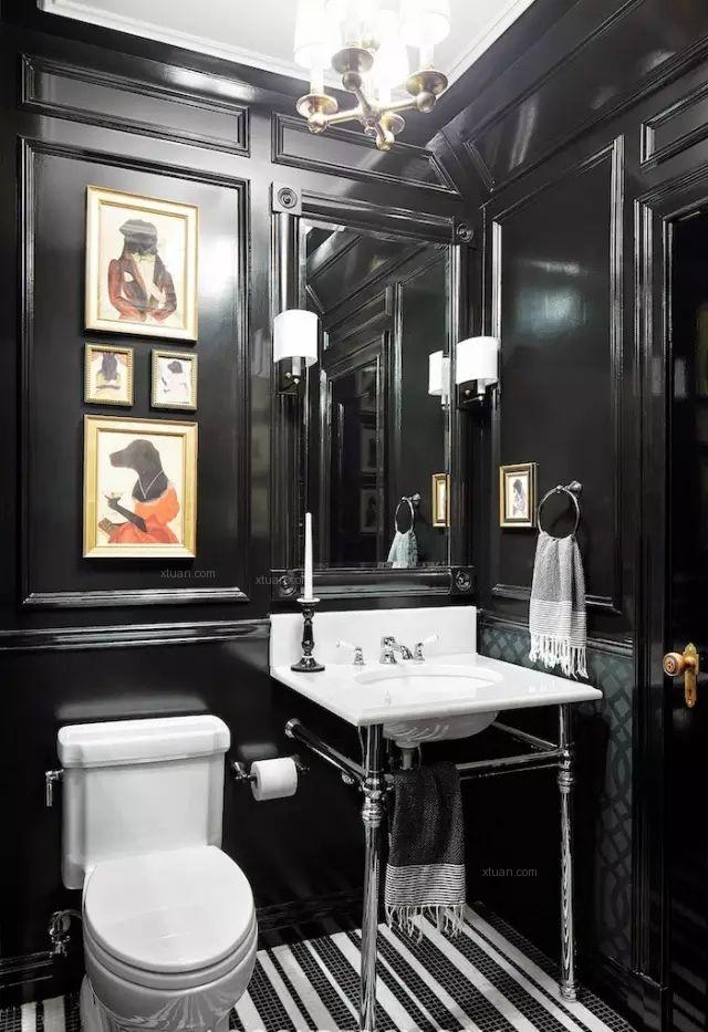 【案例赏析】法式混搭,典雅时尚的金色室内设计
