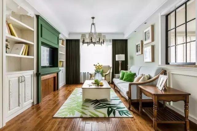 117㎡绿色减压两居室,上班第一天让你元气100%!