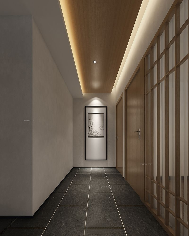 神仙树大院新中式风格装修案例