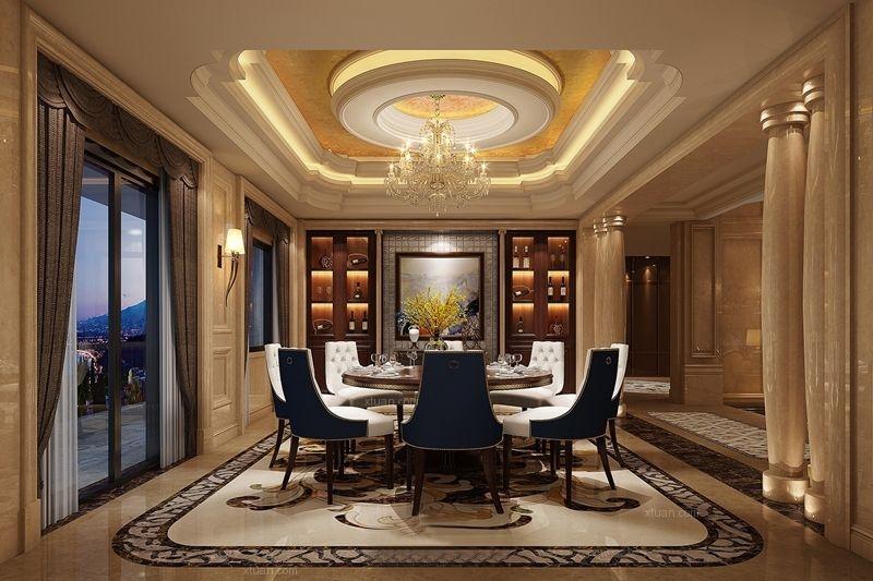 联排别墅欧式风格餐厅