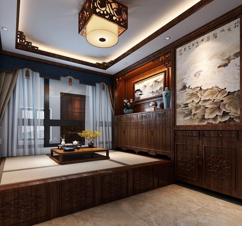 雅居乐十里花巷中式风格案例