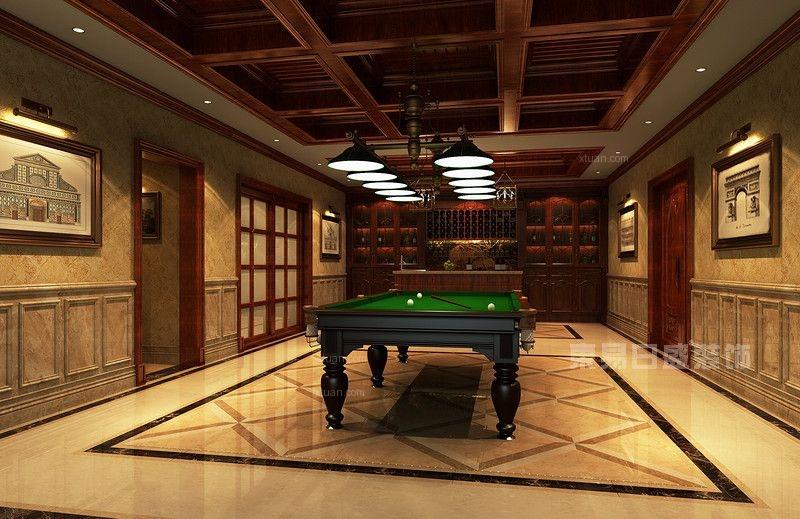 青竹园970平新古典风格别墅