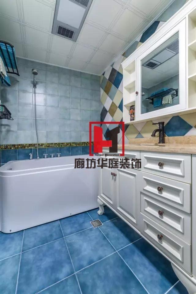 两居室美式风格卫生间