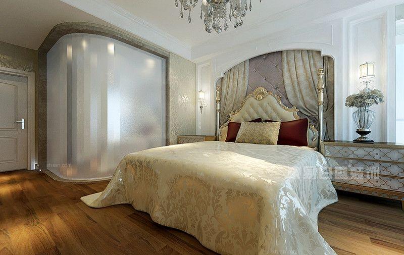 四居室简欧风格卧室家庭影院
