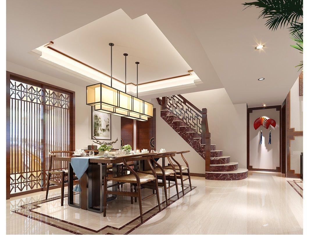 复式楼古典风格餐厅