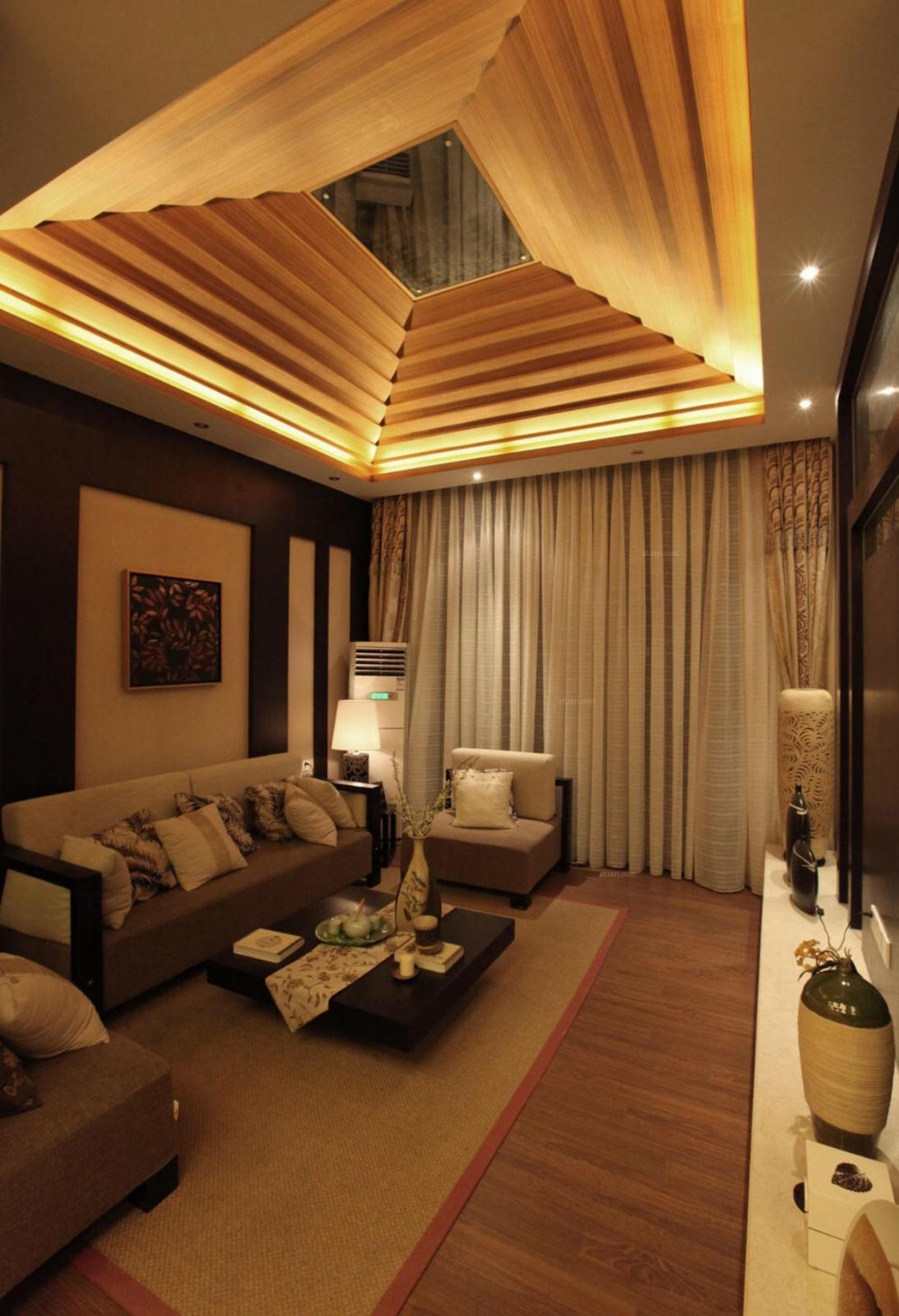 三室一厅日式风格客厅