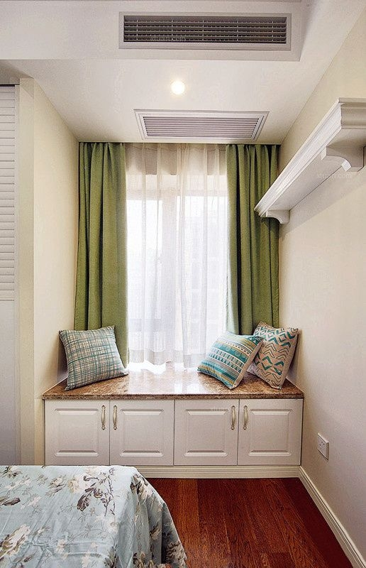 三居室美式风格卧室