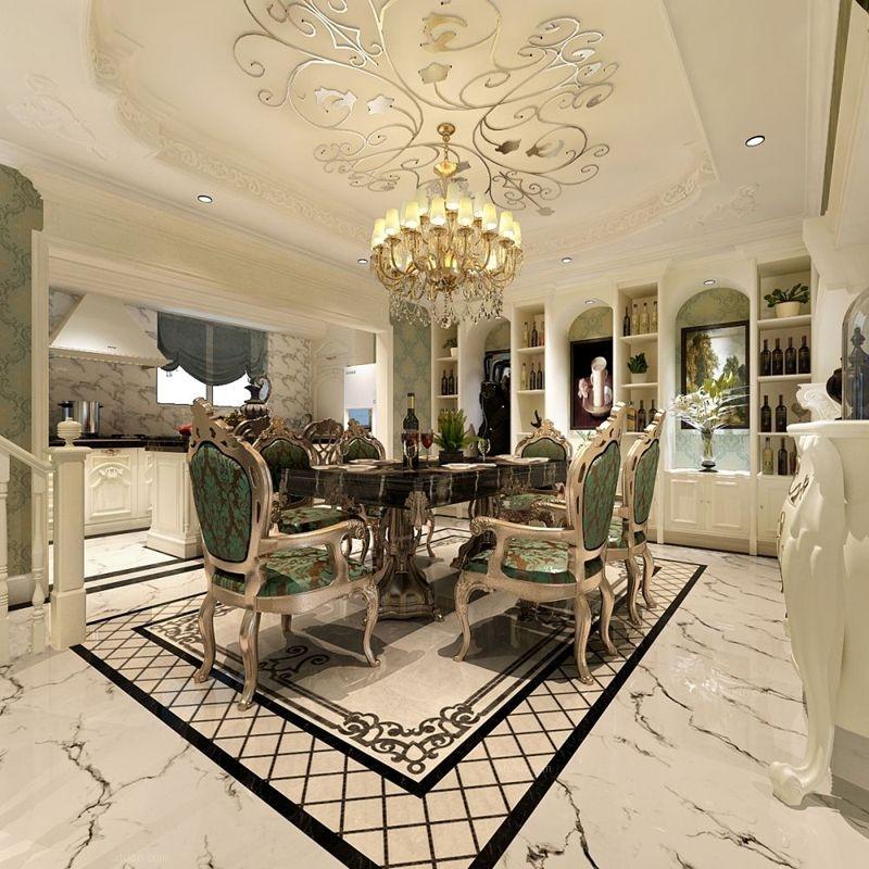 四居室法式风格餐厅