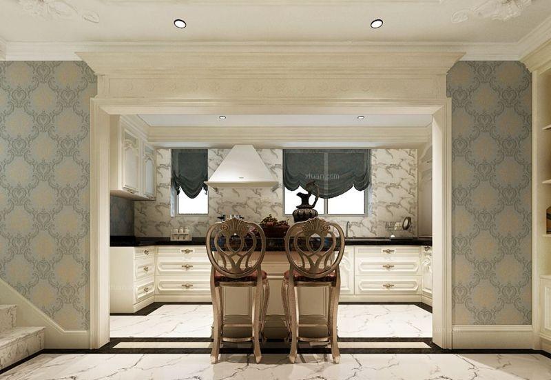 四居室法式风格厨房