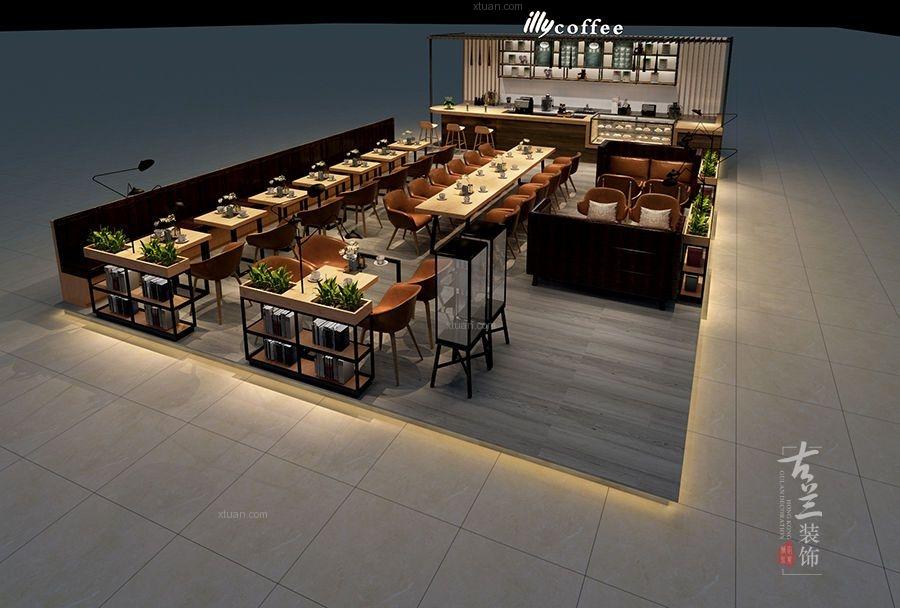 《意利咖啡设计》-成都咖啡厅-成都专业咖啡厅设计公司装修效果图