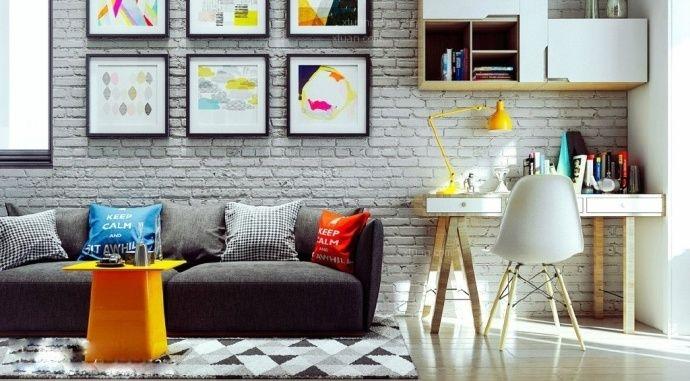 一居室欧式风格客厅