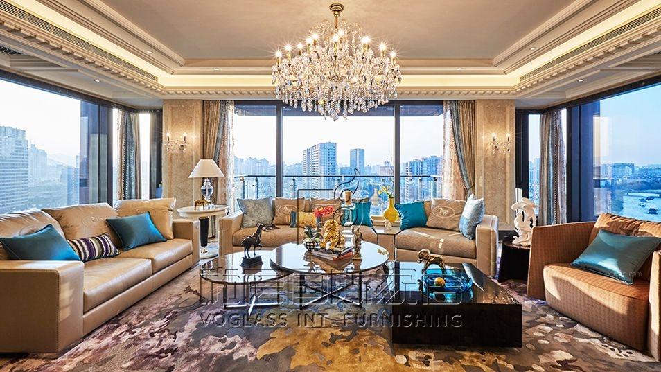杭州武林外滩,新古典风格,尚层国际家居