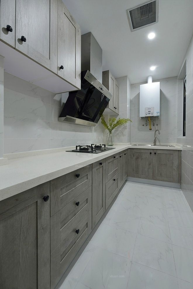 两室一厅美式风格厨房