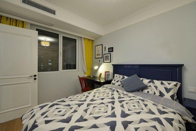 两室一厅美式风格卧室