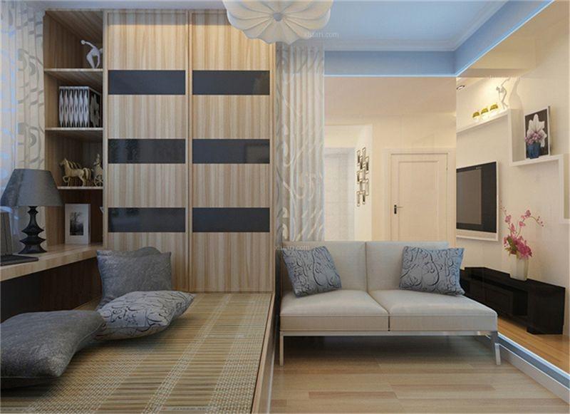 三居室简约风格书房