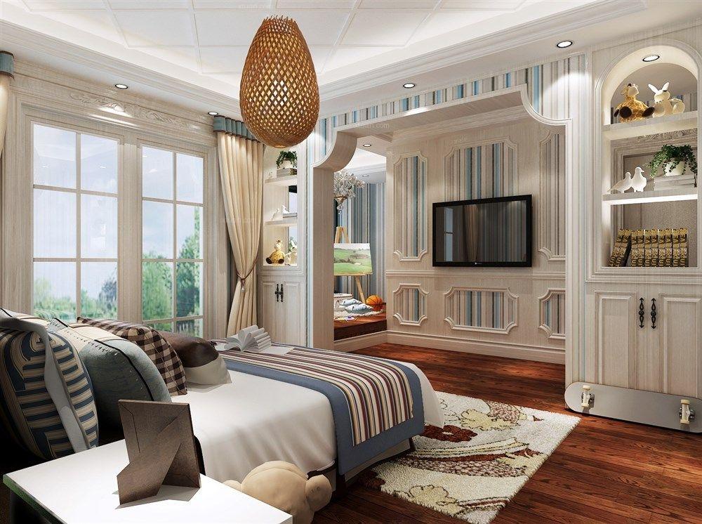 海珀晶华别墅装修古典欧式风格