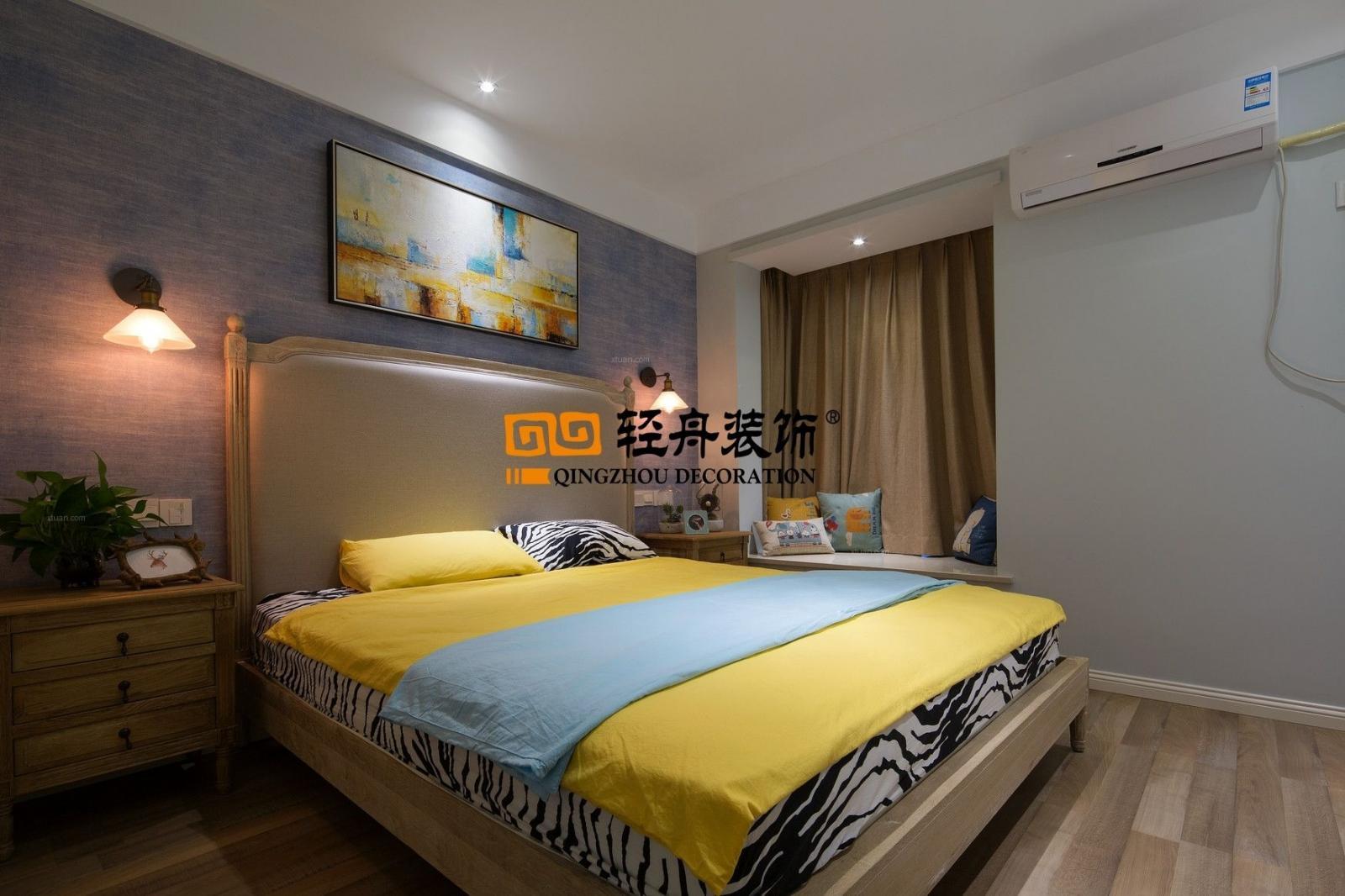 一居室北欧风格卧室